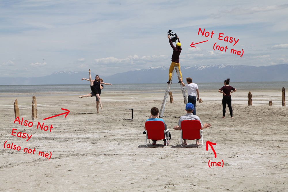 Based in Provo but this video was filmed in the Salt Flats in Utah. Beautiful video production but hard to get up high.